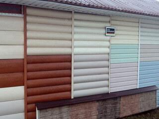 Материалы для отделки фасады домов